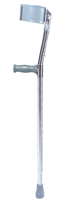 Drive Steel Forearm Crutches, Adult Standard