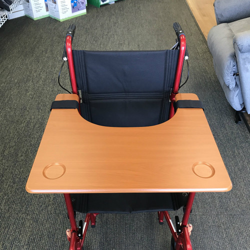 Rose Wheelchair Tray