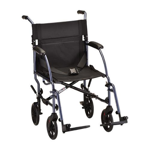 """Nova 18"""" Lightweight Aluminum Frame Foldable Transport Chair - Main"""