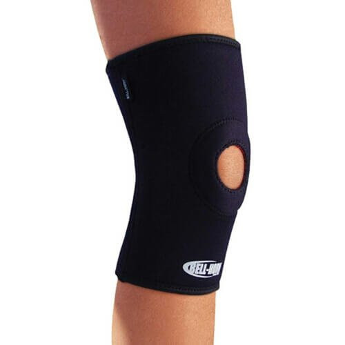 Bell-Horn Pro Style Thigh Knee and Calf Support Open Patella Knee Sleeve - Main