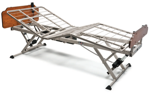Patriot LX Full-Electric Bed with FDA Full Rails and Mattress - Main