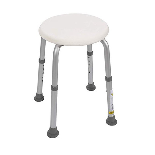 Essential Medical Round Bath Stool - MainImage