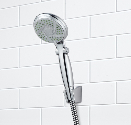 Essential Medical Deluxe Shower Sprayer with 3 Settings - Front