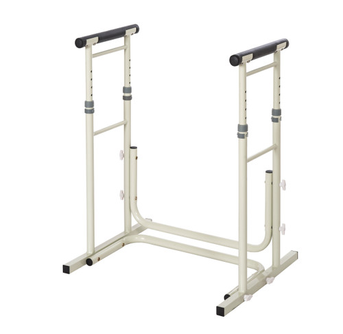 Essential Medical Height Adjustable Standing Toilet Safety Rails - Main