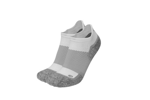 OrthoSleeve Wellness No Show Care Socks - White - MainImage