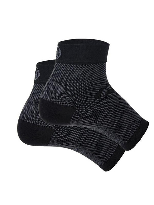 OrthoSleeve Compression Foot Sleeve for Plantar Fasciitis Relief - Black-MainImage