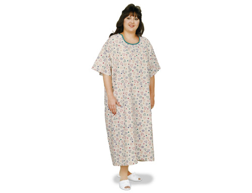 Essential Medical King and Queen Size Patient Gown - 3XL - MainImage