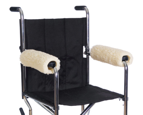 Essential Medical Sheepette Wheelchair Armrest Pads - MainImage