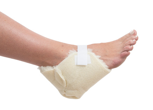 Essential Medical Sheepette Synthetic Lambskin Heel Protectors - MainImage