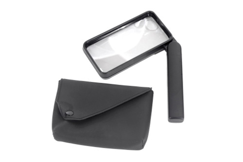 Essential Medical Everyday Essentials Folding Rectangular Magnifier - MainImage