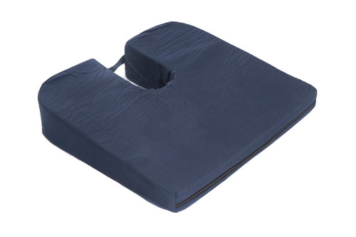 Essential Medical Sloping Seat Bucket Cushion with Cut Out - MainImage