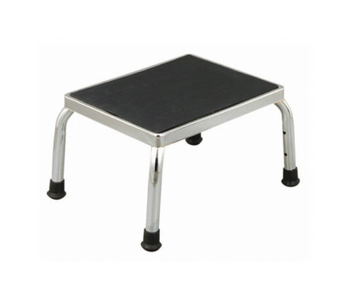 Essential Medical Chrome Plated Foot Stool - Standard