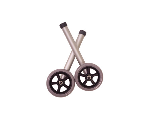"Essential Medical Universal 5"" Fixed Walker Wheels - MainImage"