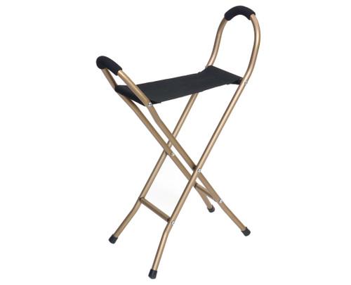 Essential Medical Endurance Folding Seat Cane - 4 Legged - MainImage