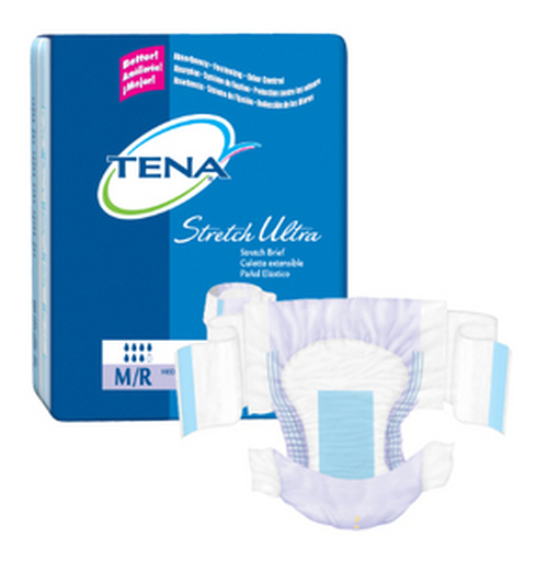 TENA Stretch Ultra Briefs - Small/Medium