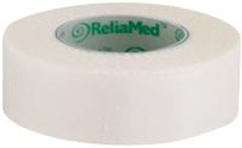 "ReliaMed 1/2"" x 10 yds. Silk Cloth Tape, Roll"