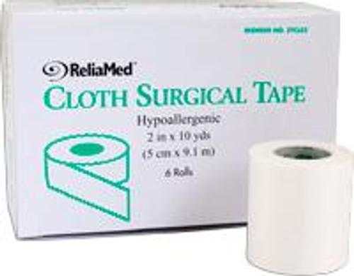 "ReliaMed 2"" x 10 yds. Tape, Silk Cloth, Roll"