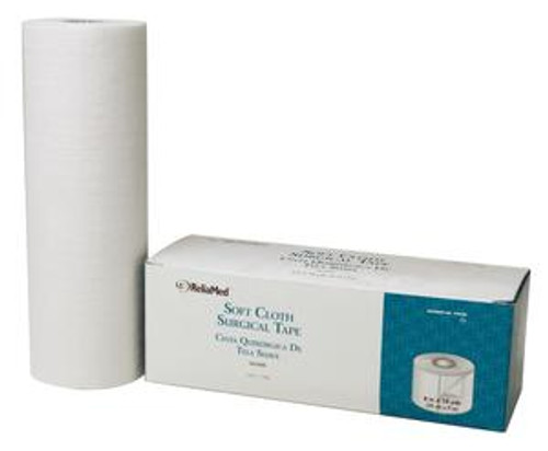 """ReliaMed 8"""" X 10 yds. Soft Cloth Surgical Tape, Roll"""