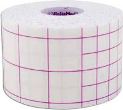 """ReliaMed Self-Adhesive Dressing Retention Sheets 2"""" x 11 yds., Each Roll"""