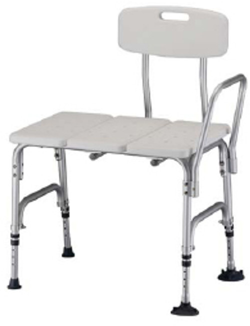 Bariatric Bath Transfer Bench with Backrest available at ACG Medical Supply