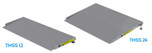 EZ-ACCESS Self-Supporting Adjustable Threshold Ramp - 12""