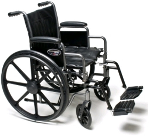 "Buy Everest & Jennings Traveler HD Wheelchair (24"" x 18"") Swingaway Footrest at ACG Medical Supply"