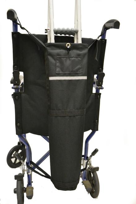Diestco Crutch Holder for Manual Wheelchairs