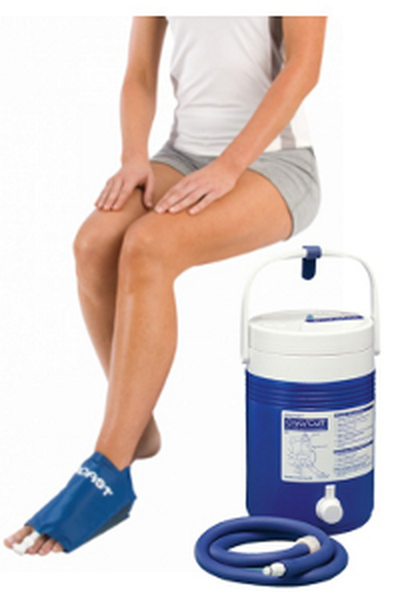 Aircast Cryo/Cuff Gravity Cooler - Foot