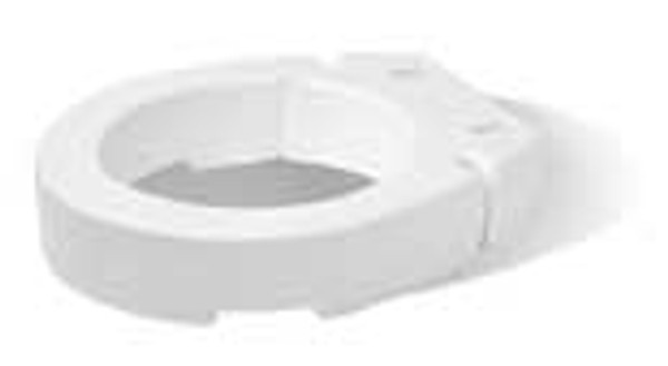Carex Hinged Elevated Toilet Seat - Standard