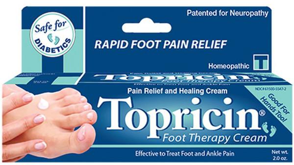 Topricin Foot Therapy Cream - 2 oz