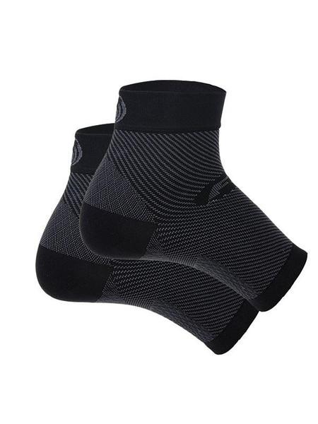 OrthoSleeve Compression Foot Sleeve for Plantar Fasciitis Relief - Black-MainImage