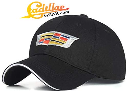 CADILLAC EMBROIDERED ADJUSTABLE BASEBALL CAP CG190