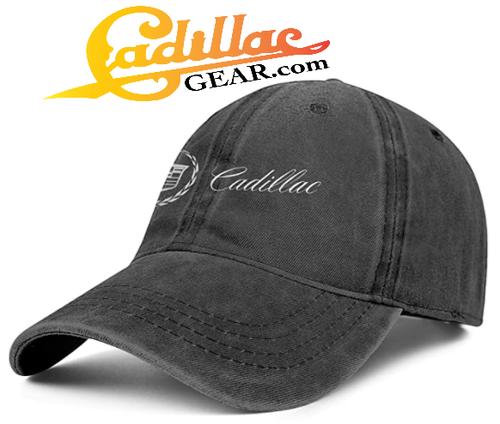 CADILLAC DENIM 3D EFFECT BASEBALL CAP CG197