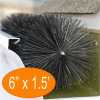"""Gutter Brush Gutter Guard 6"""" 18"""" Length from GutterBrush"""