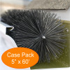 "Gutter Brush Gutter Guard 5"" 60' Pack from GutterBrush"