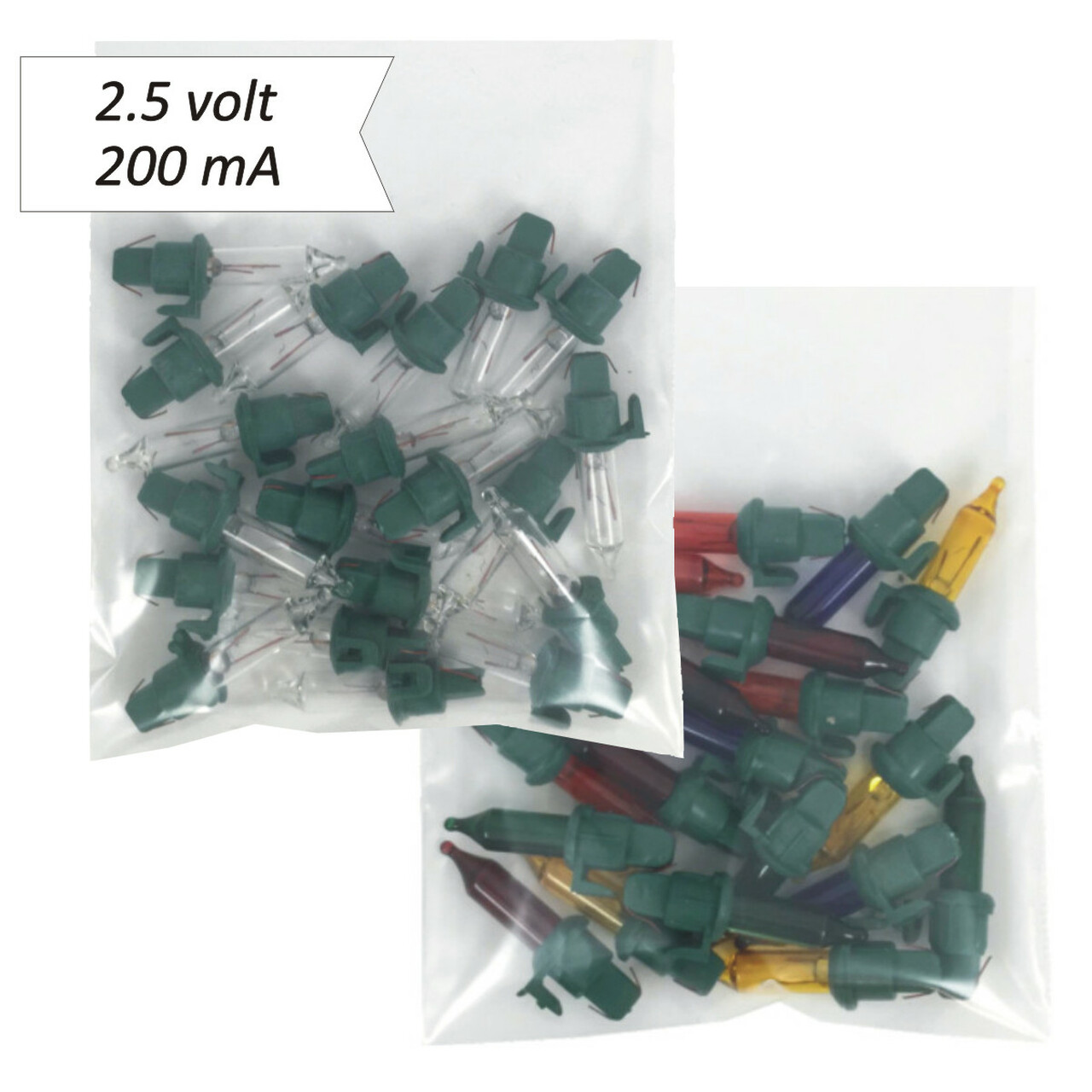 Set of 5 Miniature Bulb