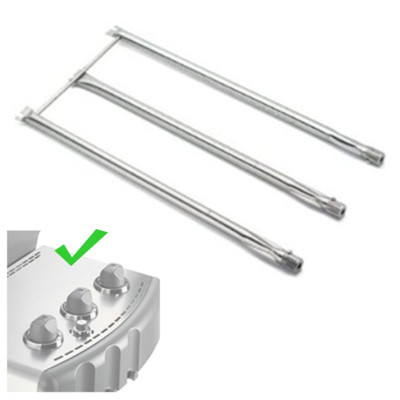 Weber 67722 Stainless Steel Replacement Burner Tubes, Fits Genesis 2007 Models Only