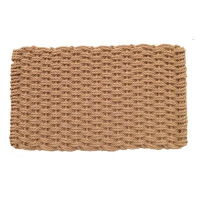 """Cape Cod Basket Weave Doormat 16""""x 26"""" Cottage Size"""