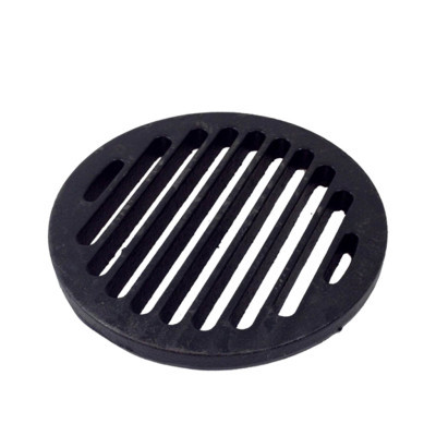 "7"" Cast Iron Bar Strainer - Round"