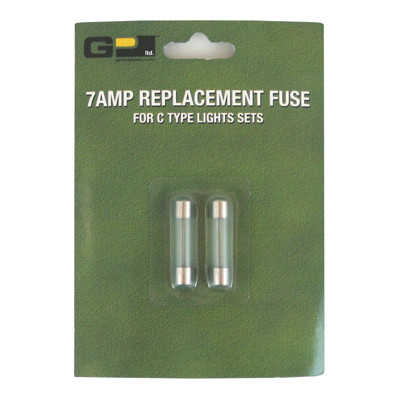 "7 Amp 1-1/4"" Replacement Fuses"
