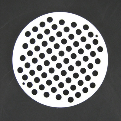 "7-1/4"" PVC Grate Floor Drain Cover"
