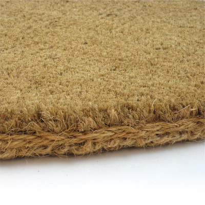 "Premium Half Round Fiber Mats - 1-1/4"" Thick - Assorted Sizes"