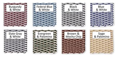 "Cape Cod Doormat Wave Pattern 20"" x 36"" Patio Size"