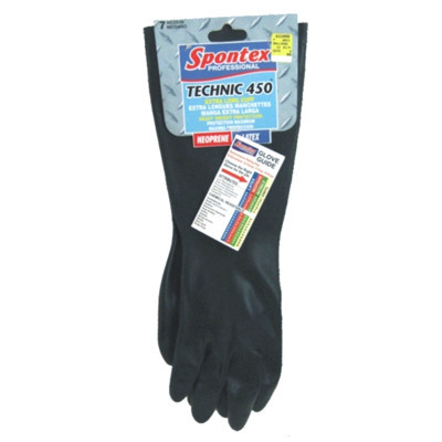 Spontex Technic 450 (Extra Long Cuff) Chemical Resistant Gloves