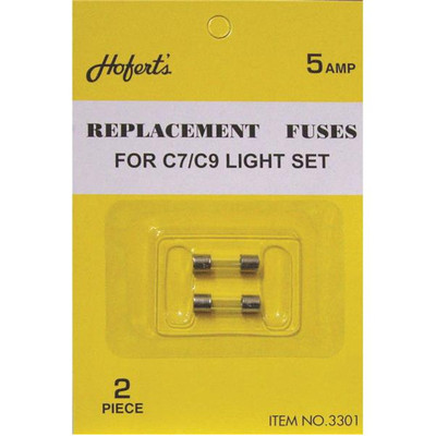 5 Amp Type C Replacement Fuses