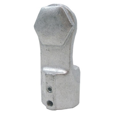 "Aluminum Railing Arm 1"" With End Nut"
