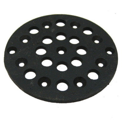 "5-3/8"" Cast Iron Grate Floor Drain Cover"
