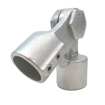 "Adjustable 1-1/4"" Pipe Railing Elbow"