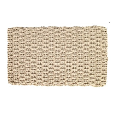 "Cape Cod Basket Weave Doormat 22""x 40"" Deck Size"