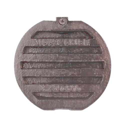 "Cast Iron Fresh Air Vent Cap - 6"" Diameter"